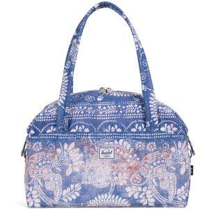 Strand Duffel Tasche X-Small, blau / weiß / braun, zoom bei OUTFITTER Online