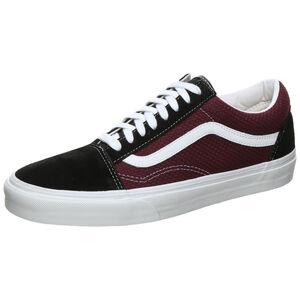 Old Skool Sneaker, schwarz / bordeaux, zoom bei OUTFITTER Online