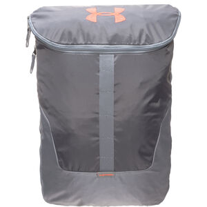 Expandable Rucksack, grau / orange, zoom bei OUTFITTER Online