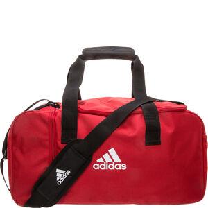 Tiro Duffel Small Fußballtasche, rot / weiß, zoom bei OUTFITTER Online