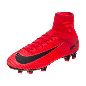 Mercurial Superfly V DF FG Fußballschuh Kinder, Rot, zoom bei OUTFITTER Online