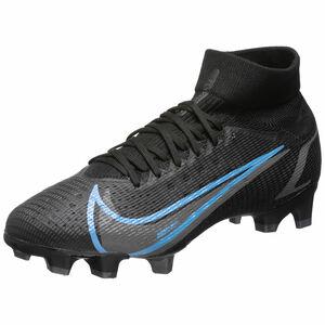 Mercurial Superfly 8 Pro DF FG Fußballschuh Herren, schwarz / blau, zoom bei OUTFITTER Online