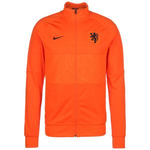 Niederlande I96 Anthem Jacke EM 2021 Herren, orange / schwarz, zoom bei OUTFITTER Online