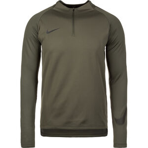 Dry Squad Drill Trainingsshirt, dunkelgrün / schwarz, zoom bei OUTFITTER Online