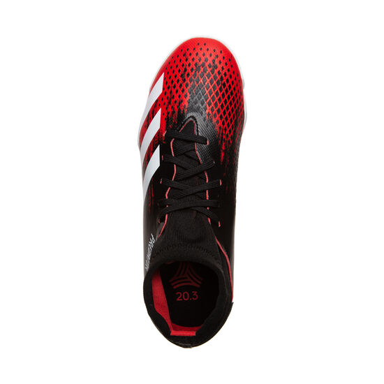 Predator 20.3 Indoor Fußballschuh Kinder, schwarz / rot, zoom bei OUTFITTER Online