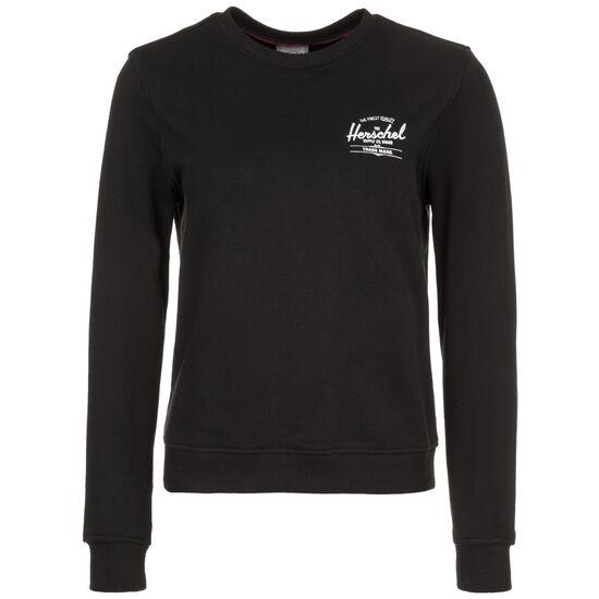 Crewneck Sweatshirt Damen, schwarz / weiß, zoom bei OUTFITTER Online
