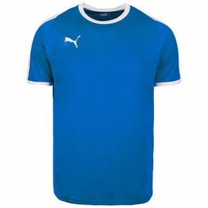 Liga Fußballtrikot Herren, blau / weiß, zoom bei OUTFITTER Online