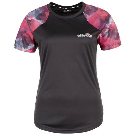 Picanto Trainingsshirt Damen, schwarz / dunkelrot, zoom bei OUTFITTER Online