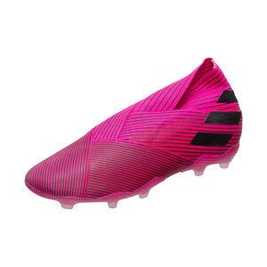 Nemeziz 18+ FG Fußballschuh Kinder, pink / schwarz, zoom bei OUTFITTER Online