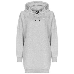 Essential Fleece Kleid Damen, grau / weiß, zoom bei OUTFITTER Online