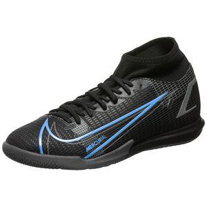 Mercurial Superfly 8 Academy DF Indoor Fußballschuh Herren, schwarz / blau, zoom bei OUTFITTER Online
