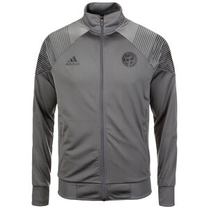 FC Bayern München Licensed Icons Trainingsjacke Herren, Grau, zoom bei OUTFITTER Online