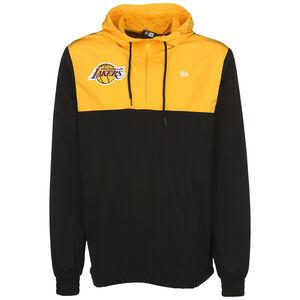 NBA Colour Block Los Angeles Lakers Windbreaker Herren, schwarz / gelb, zoom bei OUTFITTER Online