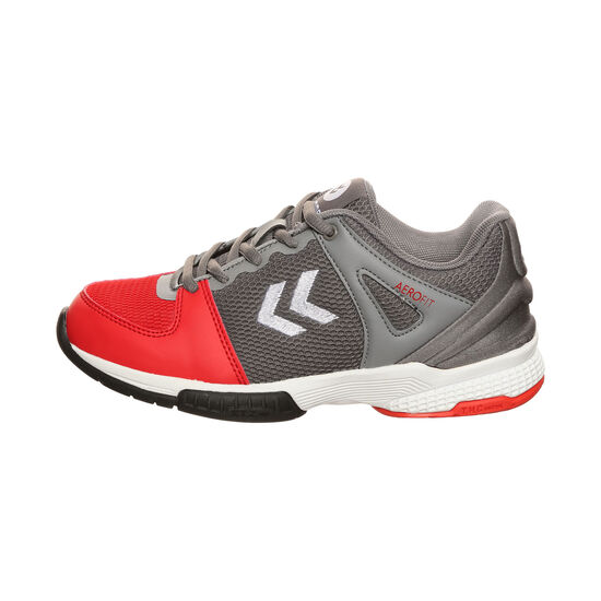 Aerocharge HB 200 3.0 Trophy Trainingsschuh Kinder, grau / rot, zoom bei OUTFITTER Online
