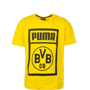 Borussia Dortmund Shoe Tag T-Shirt Kinder, Gelb, zoom bei OUTFITTER Online