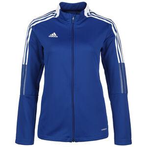 Tiro 21 Trainingsjacke Damen, blau / weiß, zoom bei OUTFITTER Online
