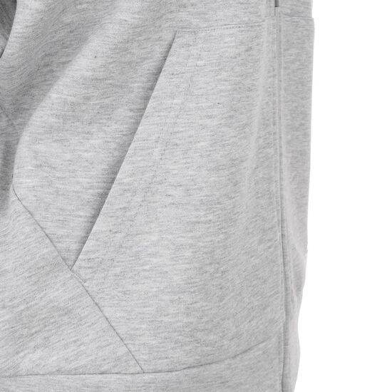 Must Haves 3-Streifen Kapuzenjacke Damen, grau / weiß, zoom bei OUTFITTER Online