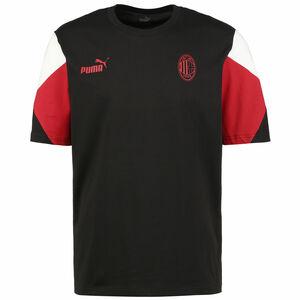 AC Mailand FtblCulture T-Shirt Herren, schwarz / rot, zoom bei OUTFITTER Online