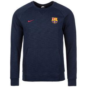 FC Barcelona Crew Optic Sweatshirt Herren, Blau, zoom bei OUTFITTER Online