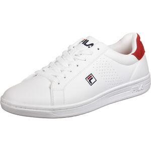 Crosscourt 2 F Low Sneaker Herren, weiß / rot, zoom bei OUTFITTER Online