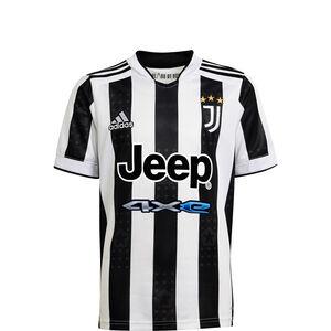 Juventus Turin Trikot Home 2021/2022 Kinder, weiß / schwarz, zoom bei OUTFITTER Online