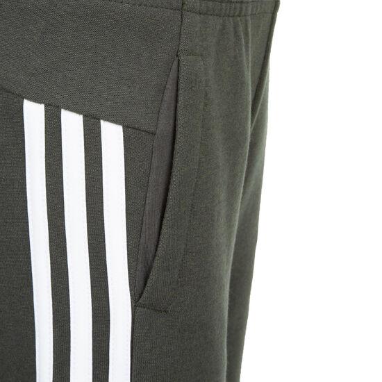 MH 3-Stripe Trainingshose Kinder, dunkelgrau / weiß, zoom bei OUTFITTER Online