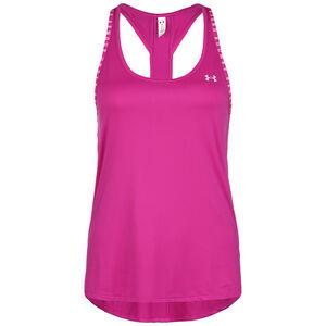 HeatGear Knockout Trainingstank Damen, pink / weiß, zoom bei OUTFITTER Online