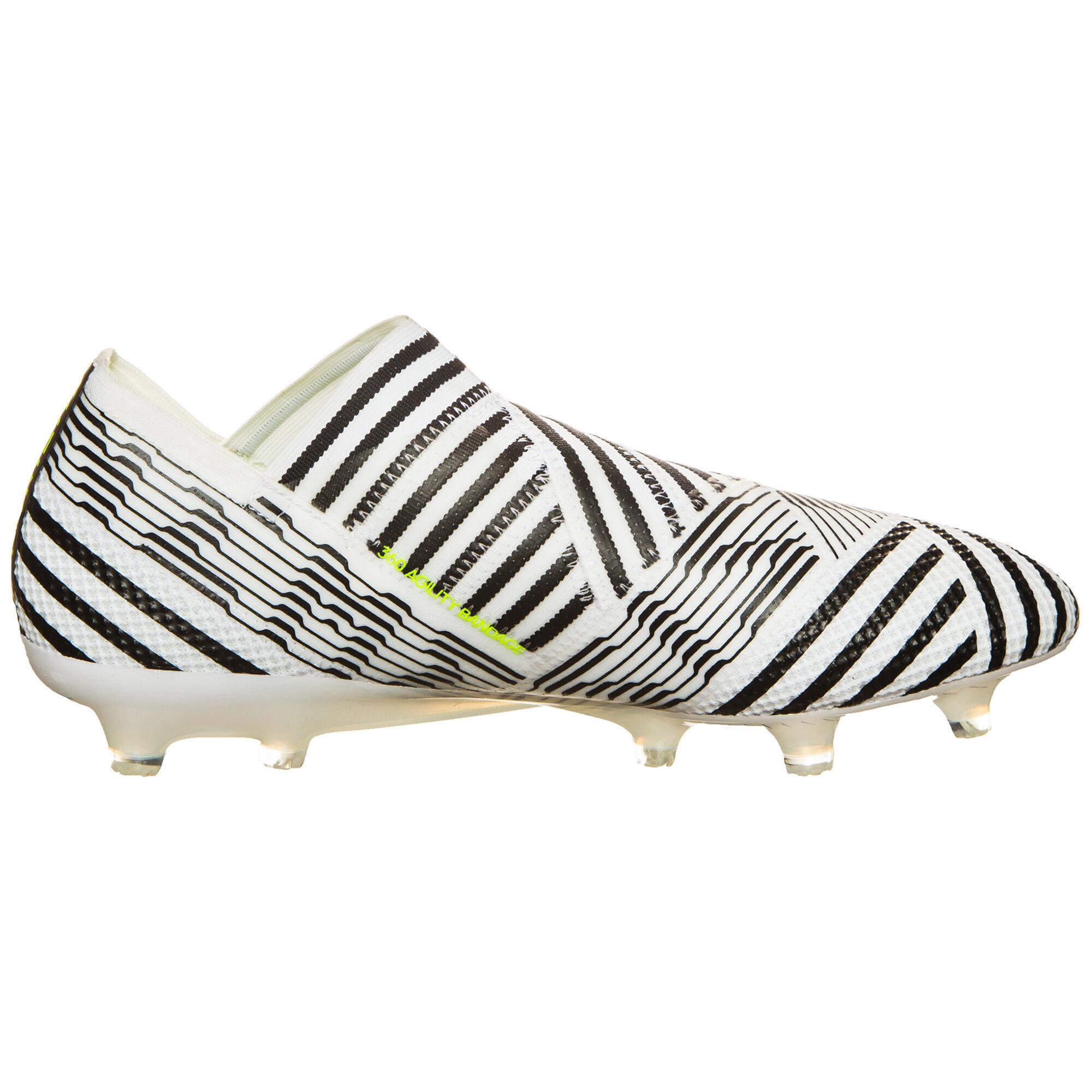 »Nemeziz 17+ 360agility« Fußballschuh, weiß, weiß-schwarz adidas Performance