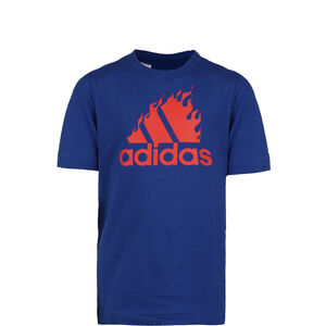 Badge of Sport Graphic T-Shirt Kinder, blau, zoom bei OUTFITTER Online