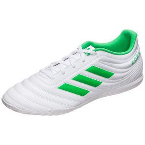 Copa 19.4 Indoor Fußballschuh Herren, weiß / hellgrün, zoom bei OUTFITTER Online