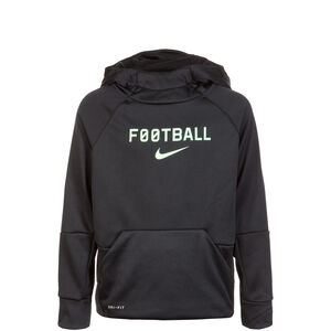 Therma Football Kapuzenpullover Kinder, schwarz, zoom bei OUTFITTER Online