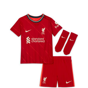 FC Liverpool Minikit Home 2021/2022 Babys, rot / weiß, zoom bei OUTFITTER Online