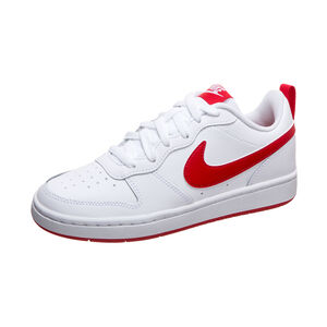 Court Borough Low 2 Sneaker Kinder, weiß / rot, zoom bei OUTFITTER Online