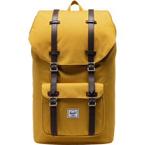 Little Amerika Rucksack, gelb / braun, zoom bei OUTFITTER Online