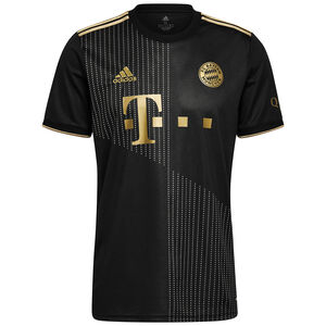 FC Bayern München Trikot Away 2021/2022 Herren, schwarz / gold, zoom bei OUTFITTER Online