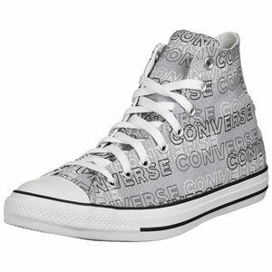 Chuck Taylor All Star Wordmark Graphic High Sneaker, grau / weiß, zoom bei OUTFITTER Online