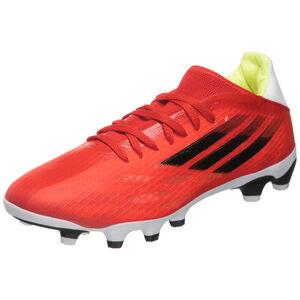 X Speedflow.3 MG Fußballschuh Herren, rot / weiß, zoom bei OUTFITTER Online