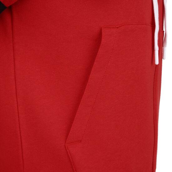 Air Fleece Kapuzenjacke Herren, rot / weiß, zoom bei OUTFITTER Online
