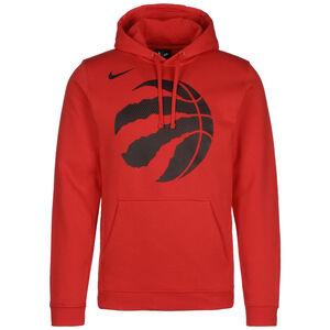 NBA Toronto Raptors Logo Fleece Kapuzenpullover Herren, rot / schwarz, zoom bei OUTFITTER Online