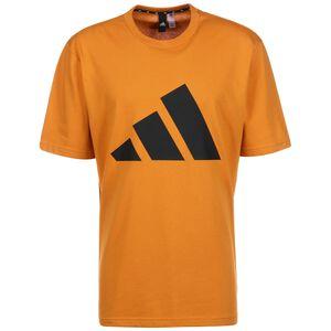 Future Icons Logo Graphic T-Shirt Herren, orange / schwarz, zoom bei OUTFITTER Online
