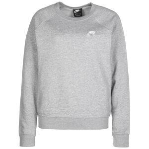 Essential Crew Sweatshirt Damen, dunkelgrau / weiß, zoom bei OUTFITTER Online