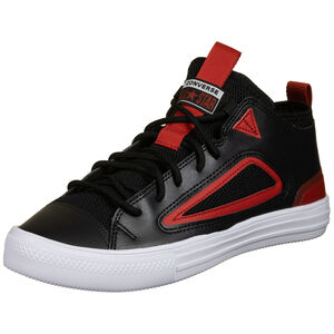 Chuck Taylor All Star Ultra OX Sneaker, schwarz / rot, zoom bei OUTFITTER Online