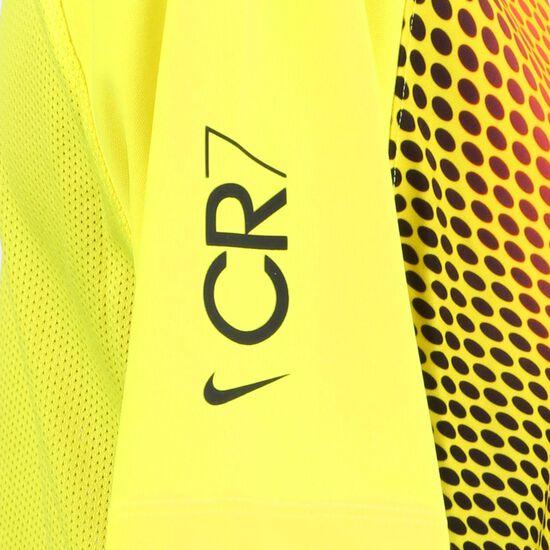 CR7 Dry Trainingsshirt Kinder, gelb / schwarz, zoom bei OUTFITTER Online
