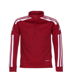 Squadra 21 Trainingssweat Kinder, rot / weiß, zoom bei OUTFITTER Online