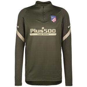 Atletico Madrid Strike Drill Trainingssweat Herren, oliv / beige, zoom bei OUTFITTER Online