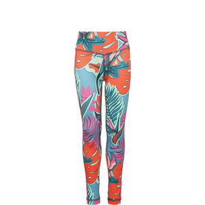 Aeroready AOP Tight Kinder, pink / bunt, zoom bei OUTFITTER Online