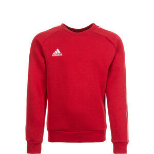 Core 18 Sweatshirt Kinder, rot / weiß, zoom bei OUTFITTER Online