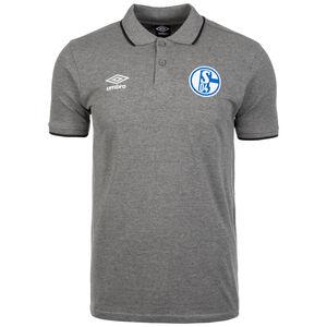 FC Schalke 04 Tipped Poloshirt Herren, grau, zoom bei OUTFITTER Online