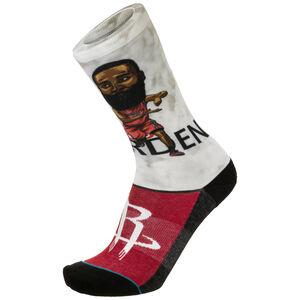 James Harden Big Head Socken Herren, dunkelrot, zoom bei OUTFITTER Online