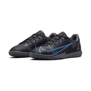 Mercurial Vapor 14 Academy Indoor Fußballschuh Kinder, schwarz / blau, zoom bei OUTFITTER Online